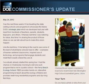 Commissioner's Update - May 24, 2012