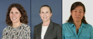 2016 Teacher of the Year State Finalists from left to right: Tayla Edlund, Brenda LaVerdiere and Mia Morrison