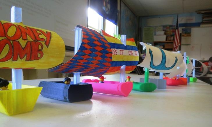 3D boats
