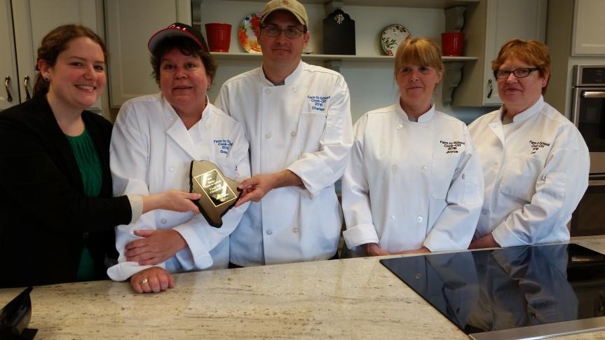 Team Rocks Knox 2016 State winner